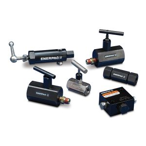 Attrezzi industriali, componenti di sistema valvole di controllo della portata Enerpac