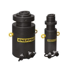 Cilindri ad alto tonnellaggio a doppio effetto con ghiera di sicurezza Enerpac