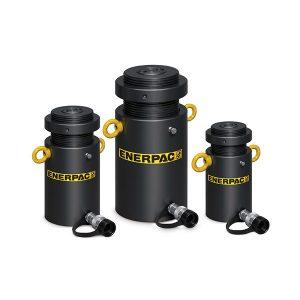 Cilindri ad alto tonnellaggio a semplice effetto con ghiera di sicurezza Enerpac