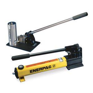 Pompe idrauliche manuali ad altissima pressione Enerpac