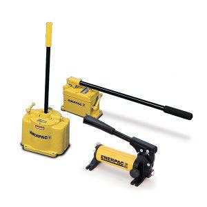 Pompe idrauliche manuali a bassa pressione Enerpac