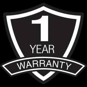 1 anno di garanzia